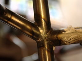 Welds - Top tube and seat stays at the seat tube