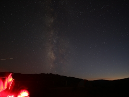 Milky Way over Lake Sonoma
