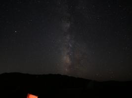Milky Way over Lake Sonoma