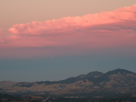 Mt. Diablo after sunset